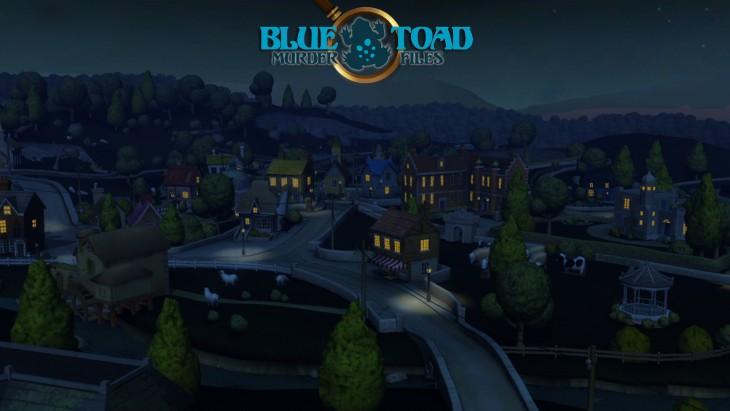 blue toad murder