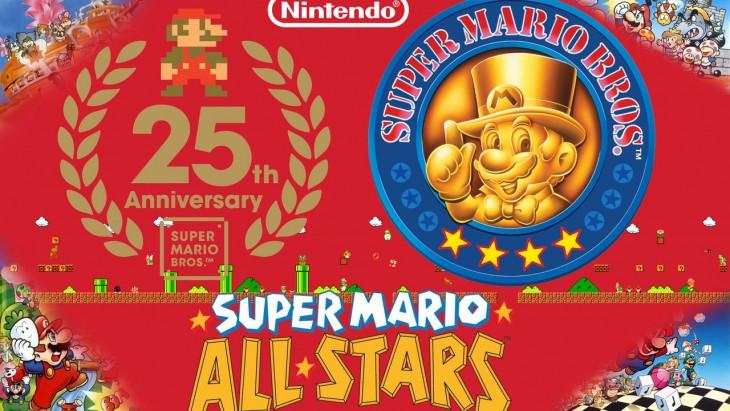 super mario anniversary