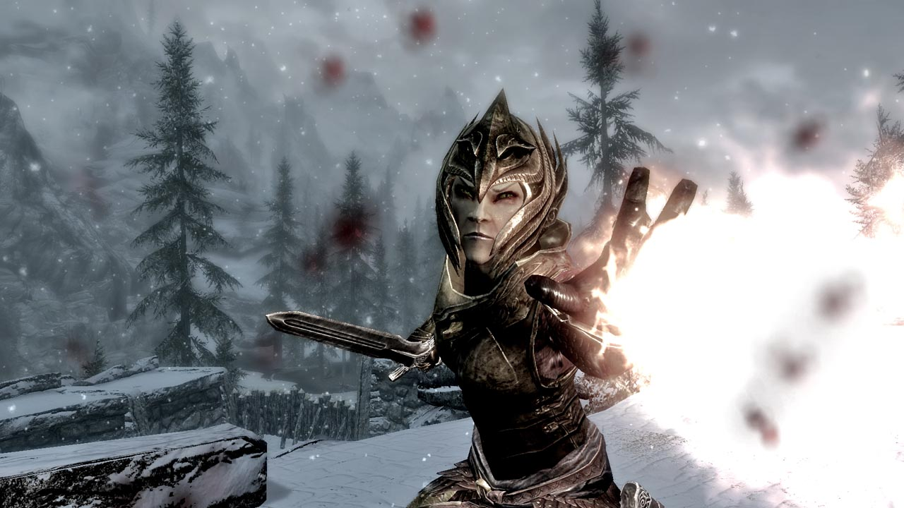 Skyrim-Screenshot-High-Elf-Fire-Blast