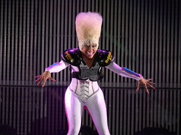 Nicki-Minaj-Football-Gear