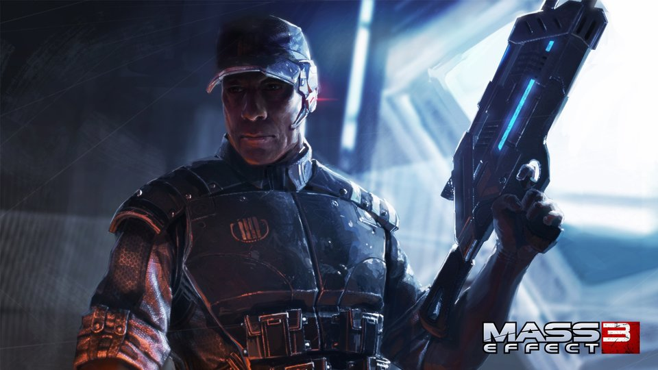 Captain Anderson puts in work on Mass Effect 3