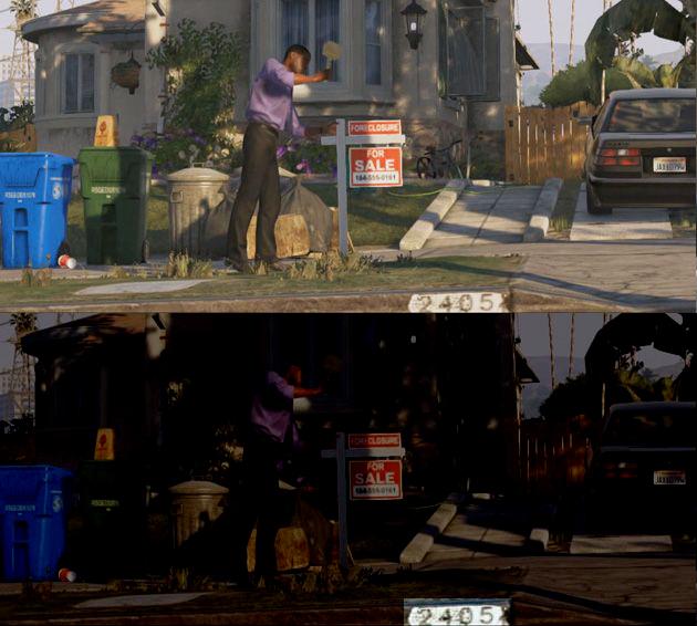 Grand Theft Auto Trailer clue