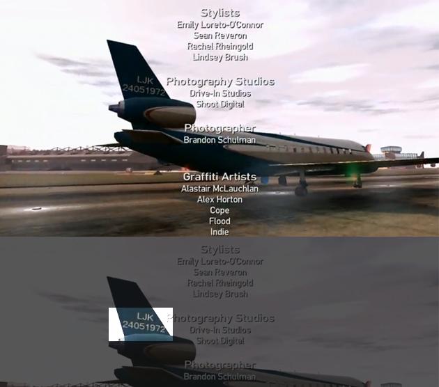 Grand Theft Auto Plane