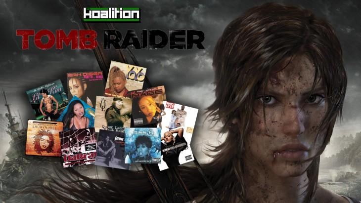 tomb raider playlist cover