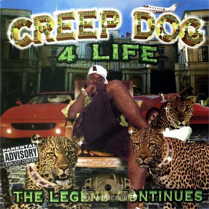 worst hip-hop album covers creep dog 4 life legend continues