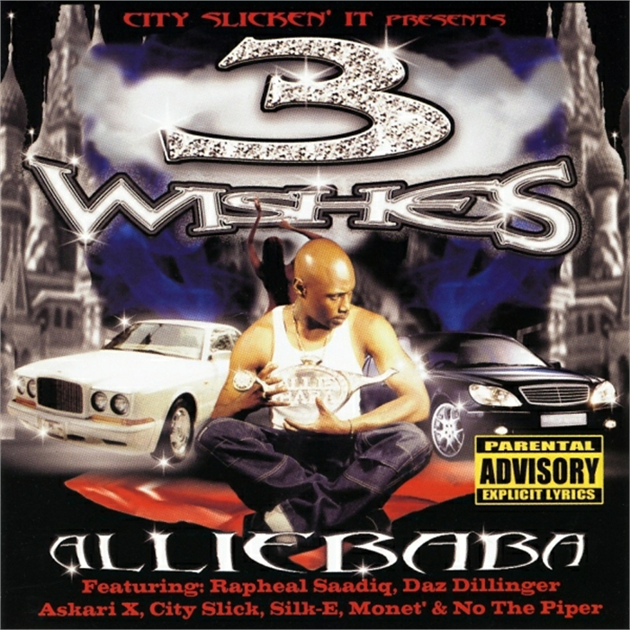 worst hip-hop album covers allie baba 3 wishes