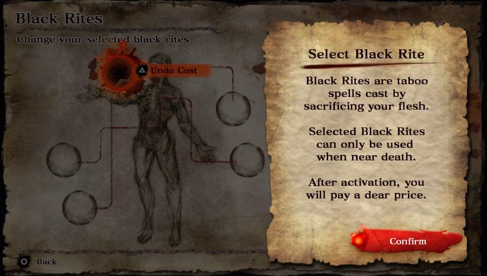 Soul Sacrifice Black