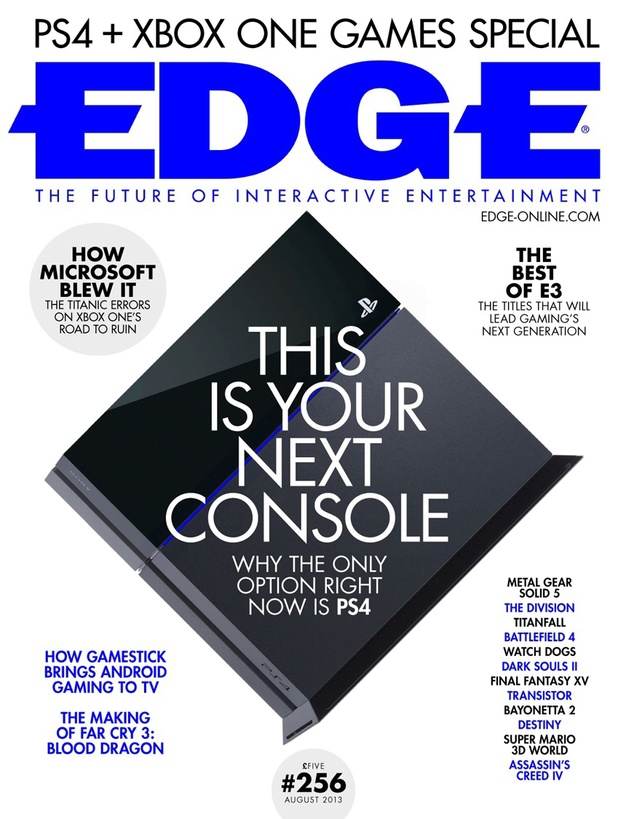 Edge PS4 Magazine