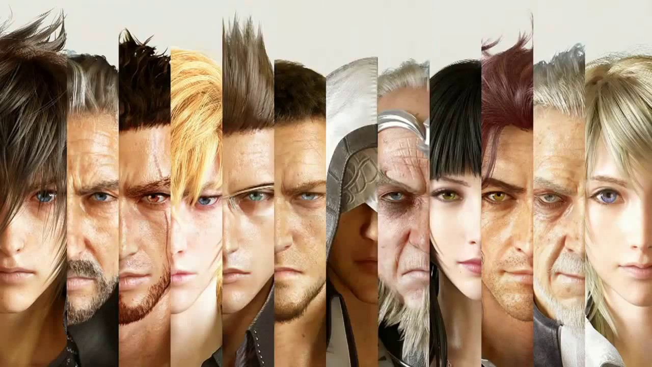 Final-Fantasy-XV-Personagens