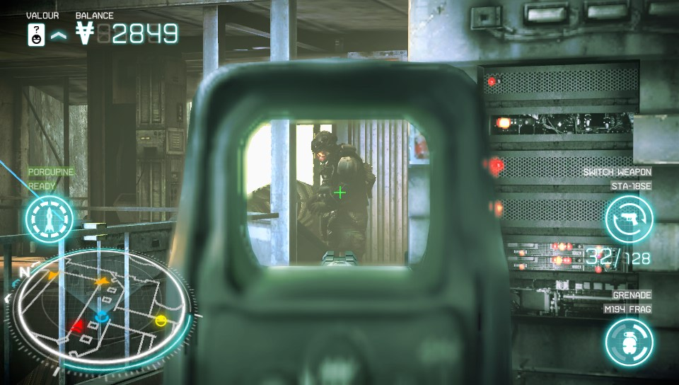 Killzone: Mercenary Aiming