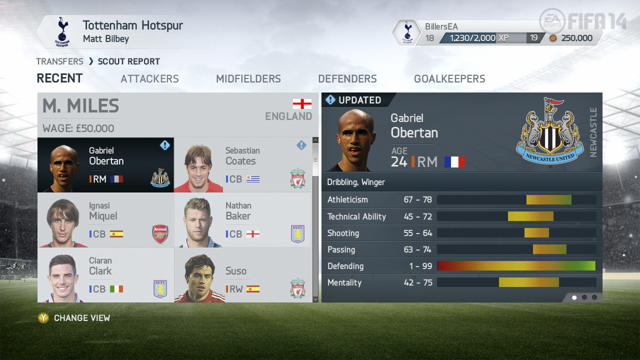 fifa 14 x360_careermodescoutreport_obertan_3rdupdate_view1_wm