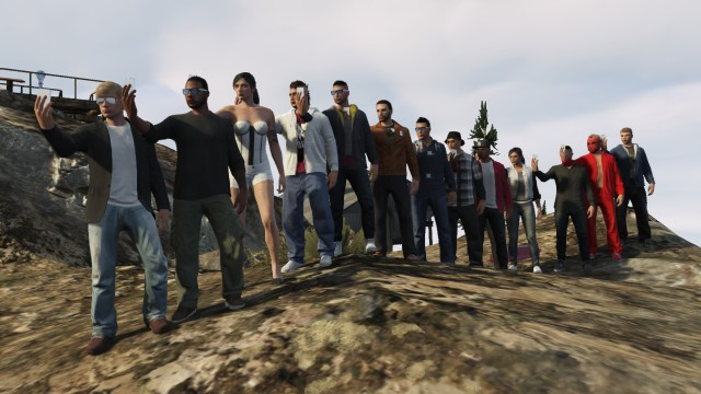 GTA V - Mount Chiliad - LukaX23