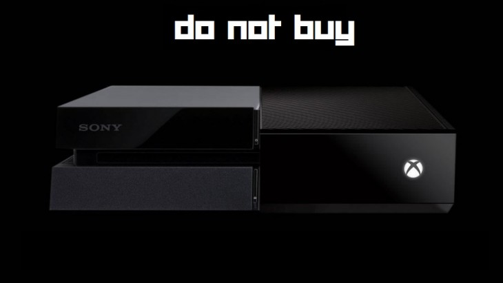 ps4 xb1 do not buy