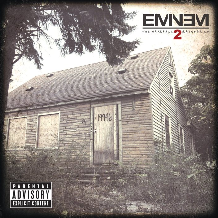eminem marshall mathers lp 2 cover