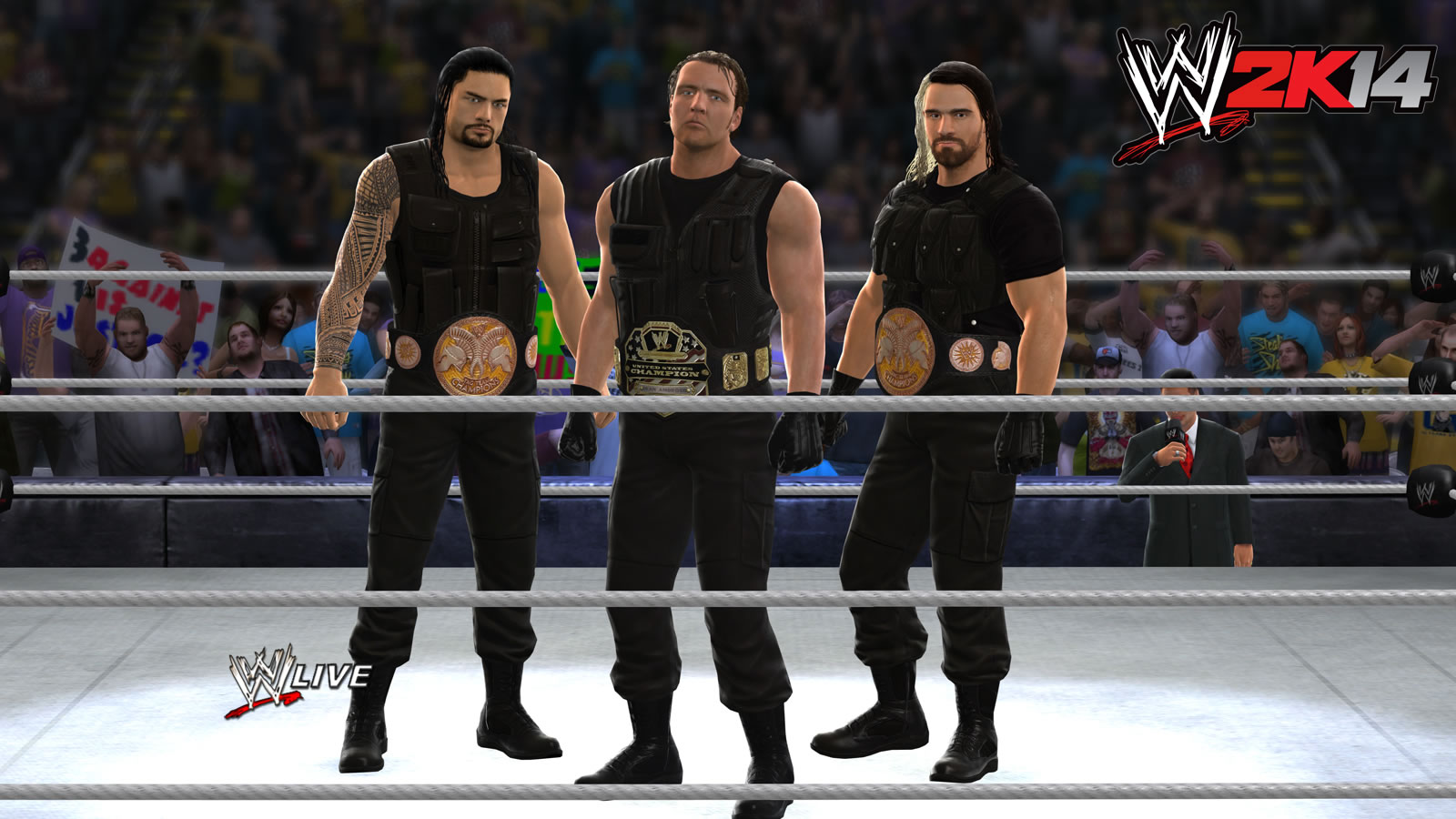 I believe in The Shield more than THQ's ability to keep the roster consistent and up-to-date.