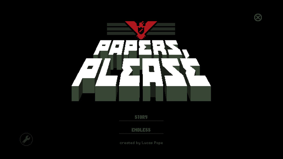 1) Papers, Please