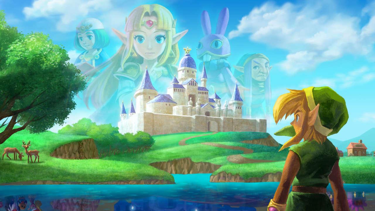 3) The Legend Of Zelda: A Link Between Worlds