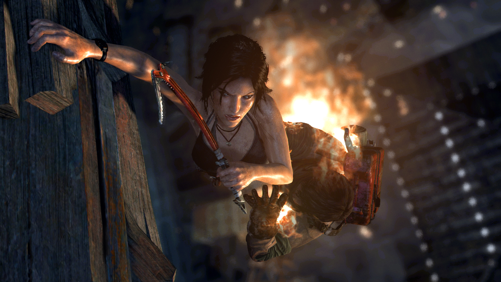 Tomb Raider: Definitive Edition has a few bells and whistles but it virtually the same game.