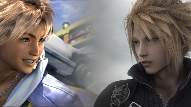 Final Fantasy X Tidus vs Final Fantasy VII Cloud