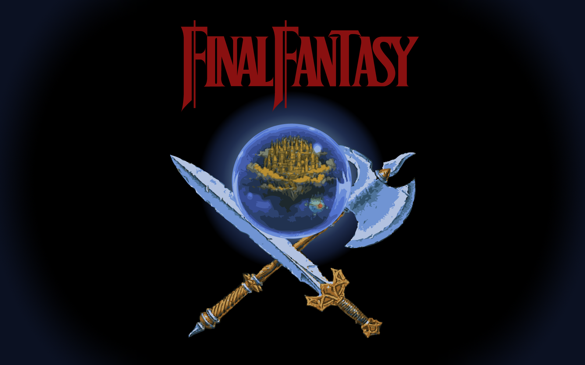 final fantasy 1 wallpaper