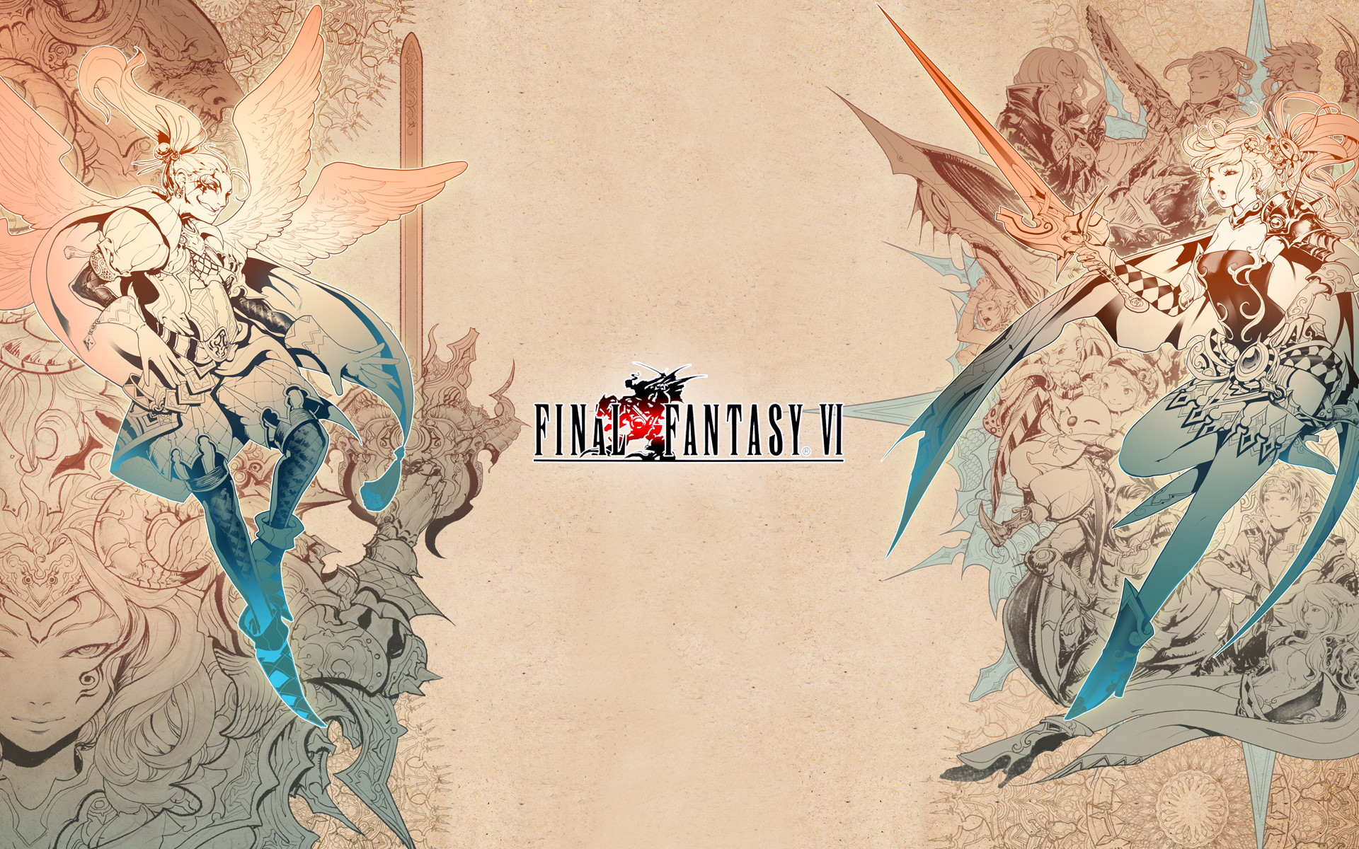 final fantasy 6 wallpaper