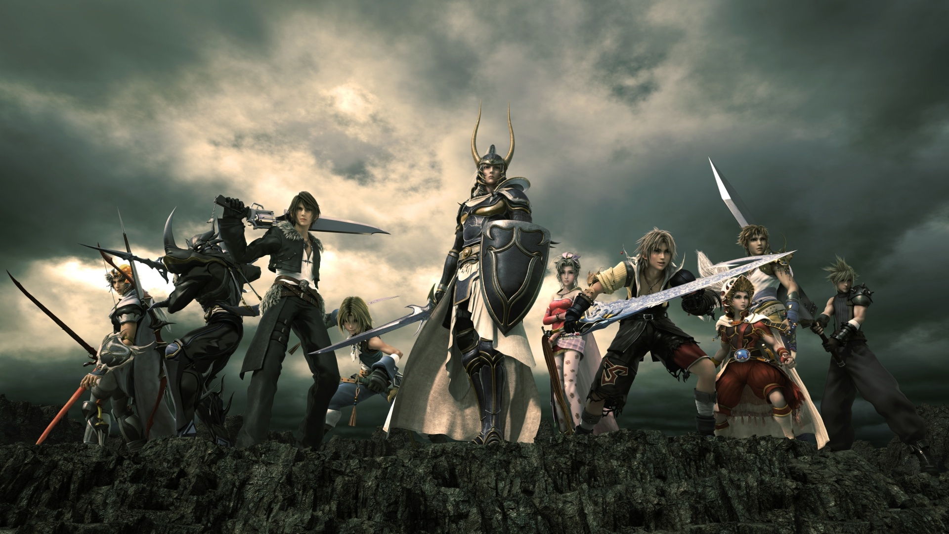 The top 6 best main final fantasy games the koalition - Fantasy game wallpaper ...