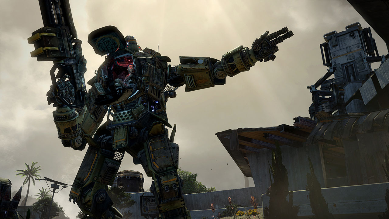 titanfall mech screenshot