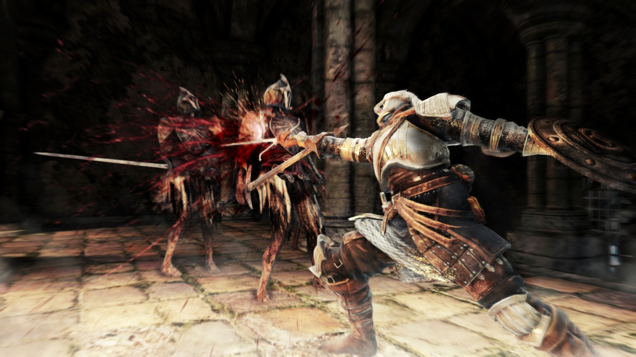 Thrusting attacks are extremely useful in narrow environments.