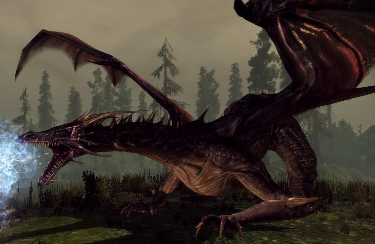 Skyrim Dragon: The Elder Scrolls: Skyrim Re-envisioned As A Bioware Game