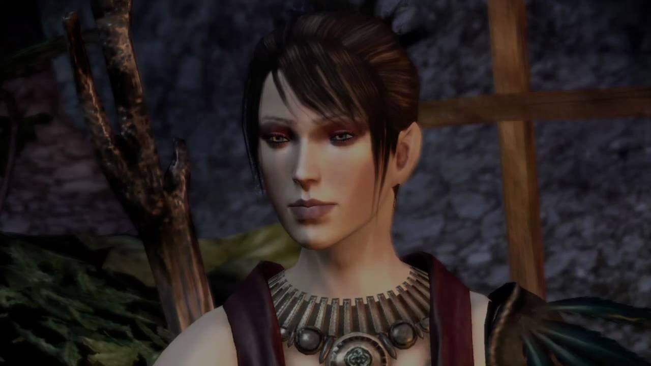 the beautiful Morrigan