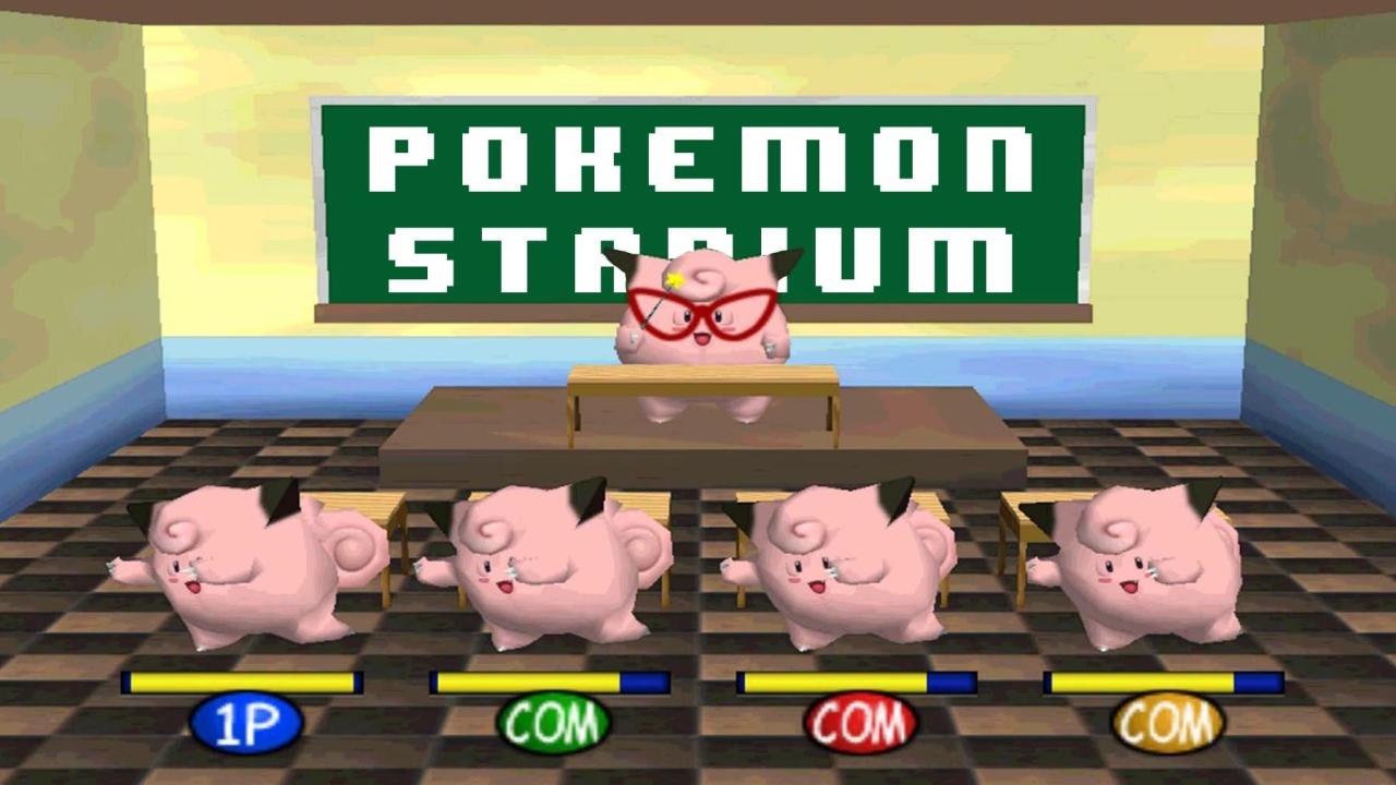 how to play pokemon stadium
