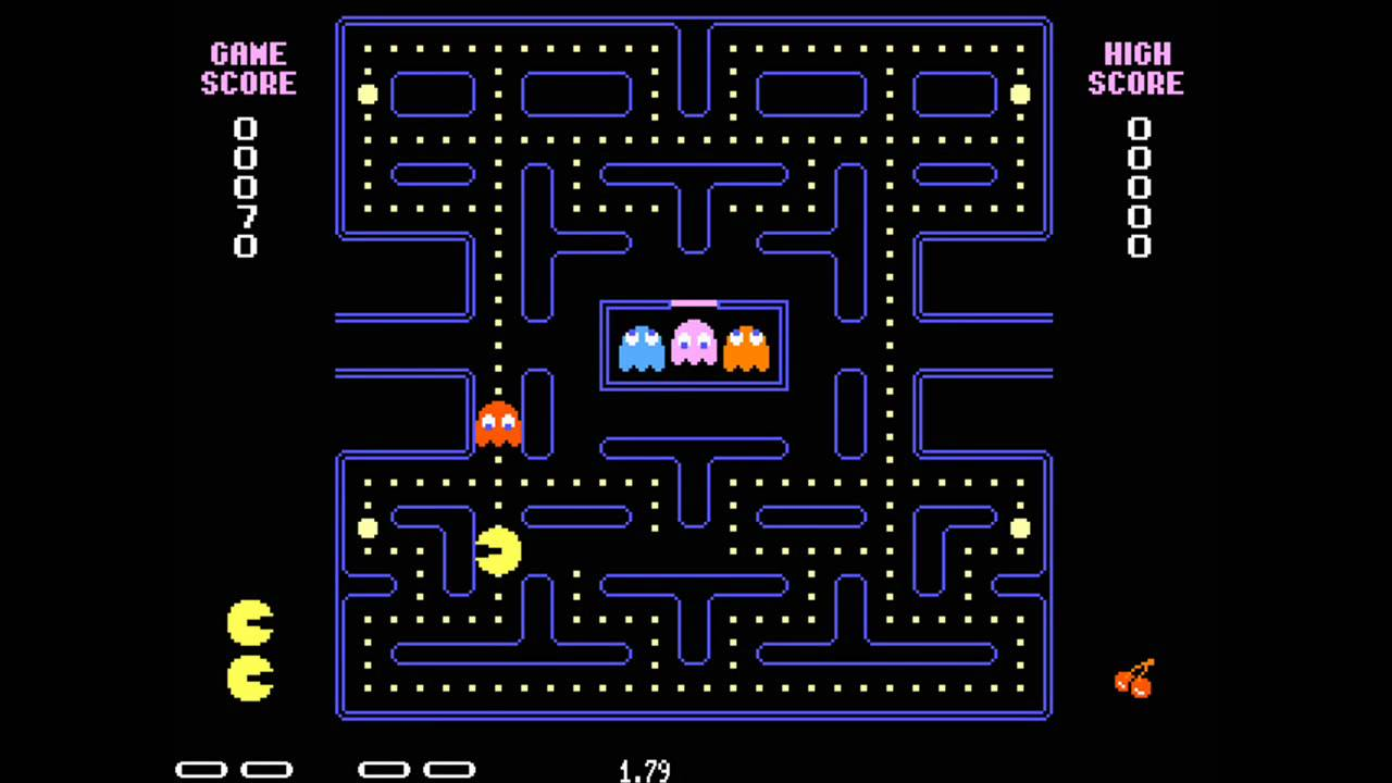 This is a picture of Dynamite Pac Man Images