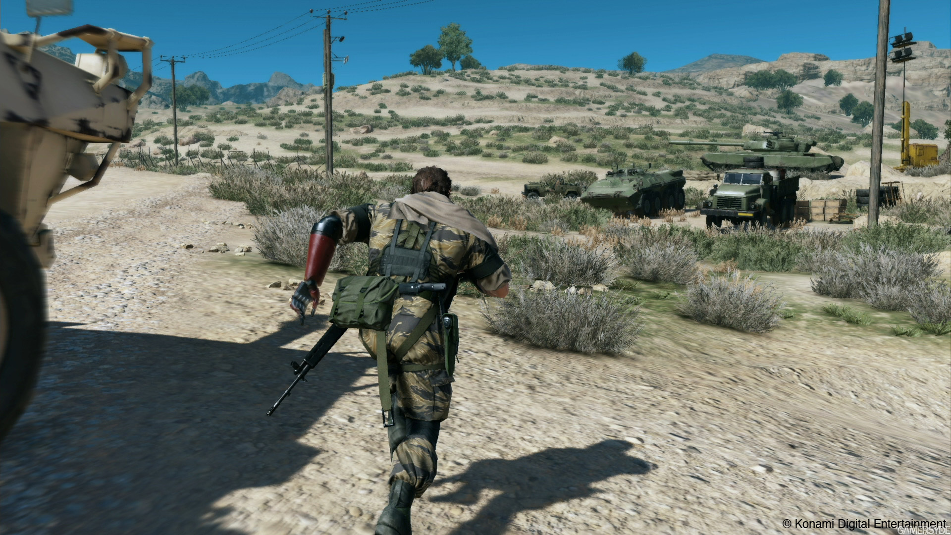 metal gear solid the phantom pain gameplay