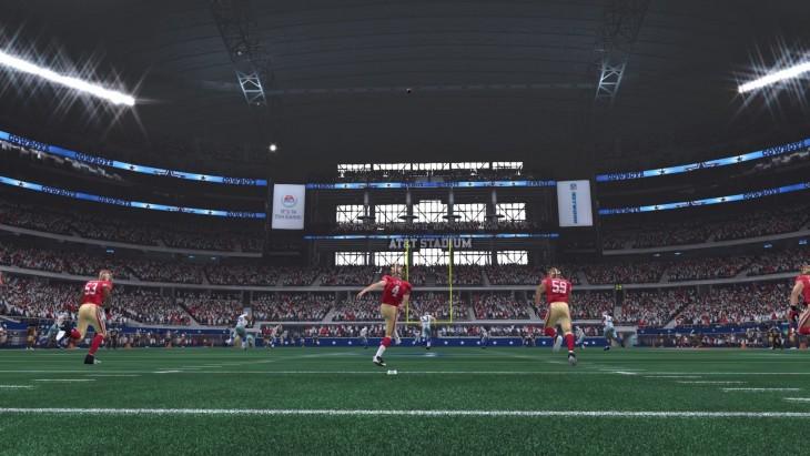 Madden NFL 15 49ers Kickoff