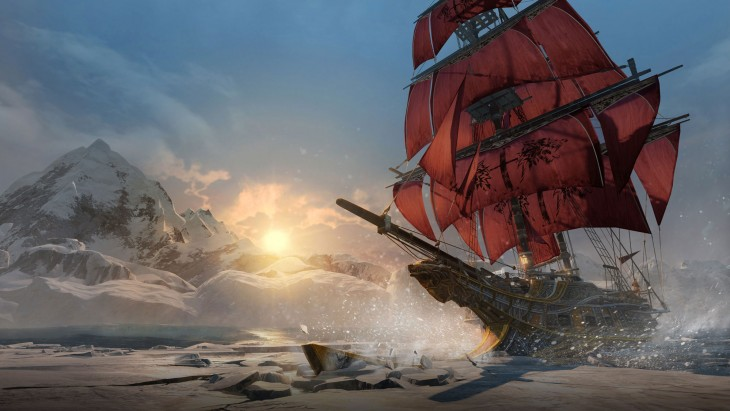 Assassin's Creed: Rogue naval battle