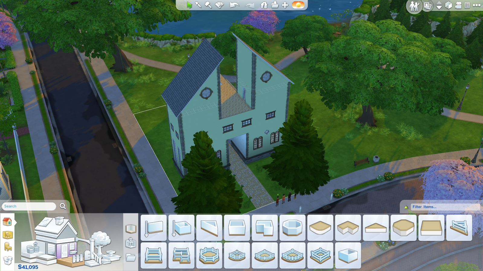 Sims screen 2