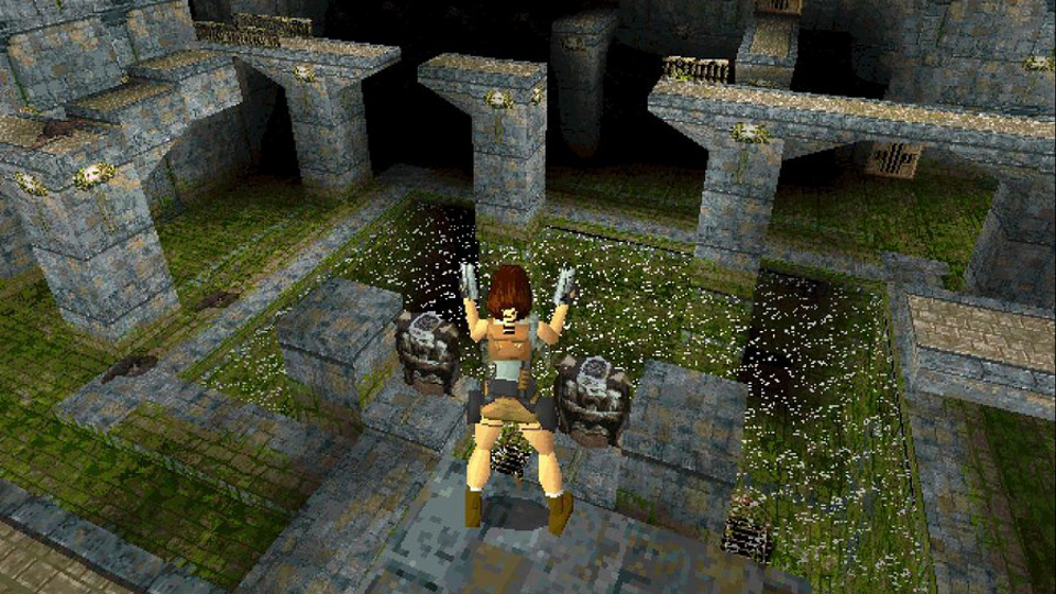 Tomb Raider on the original PlayStation.