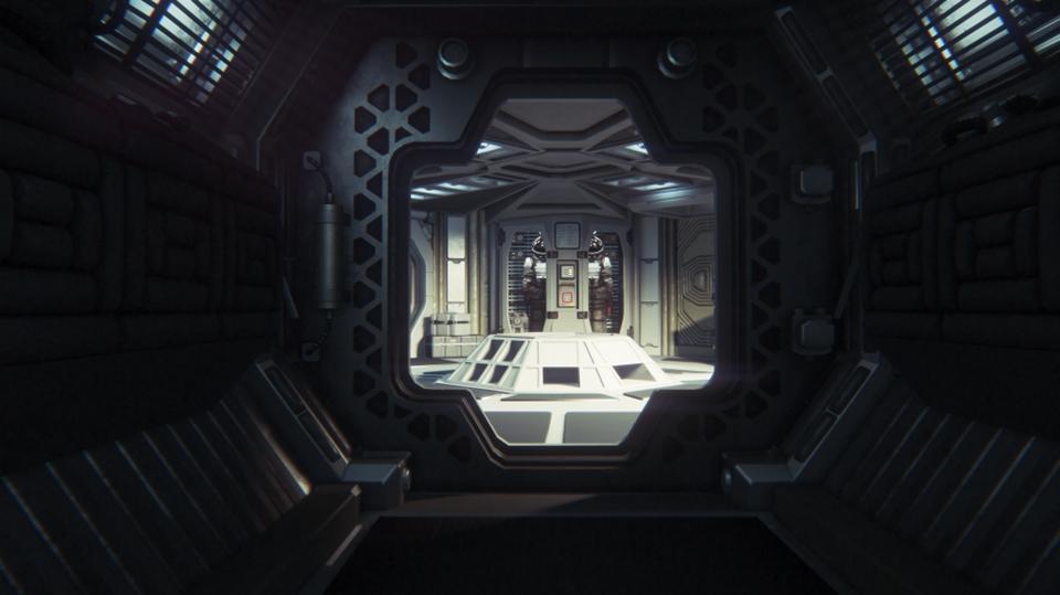 Alien: Isolation - Crew Expendable corridor