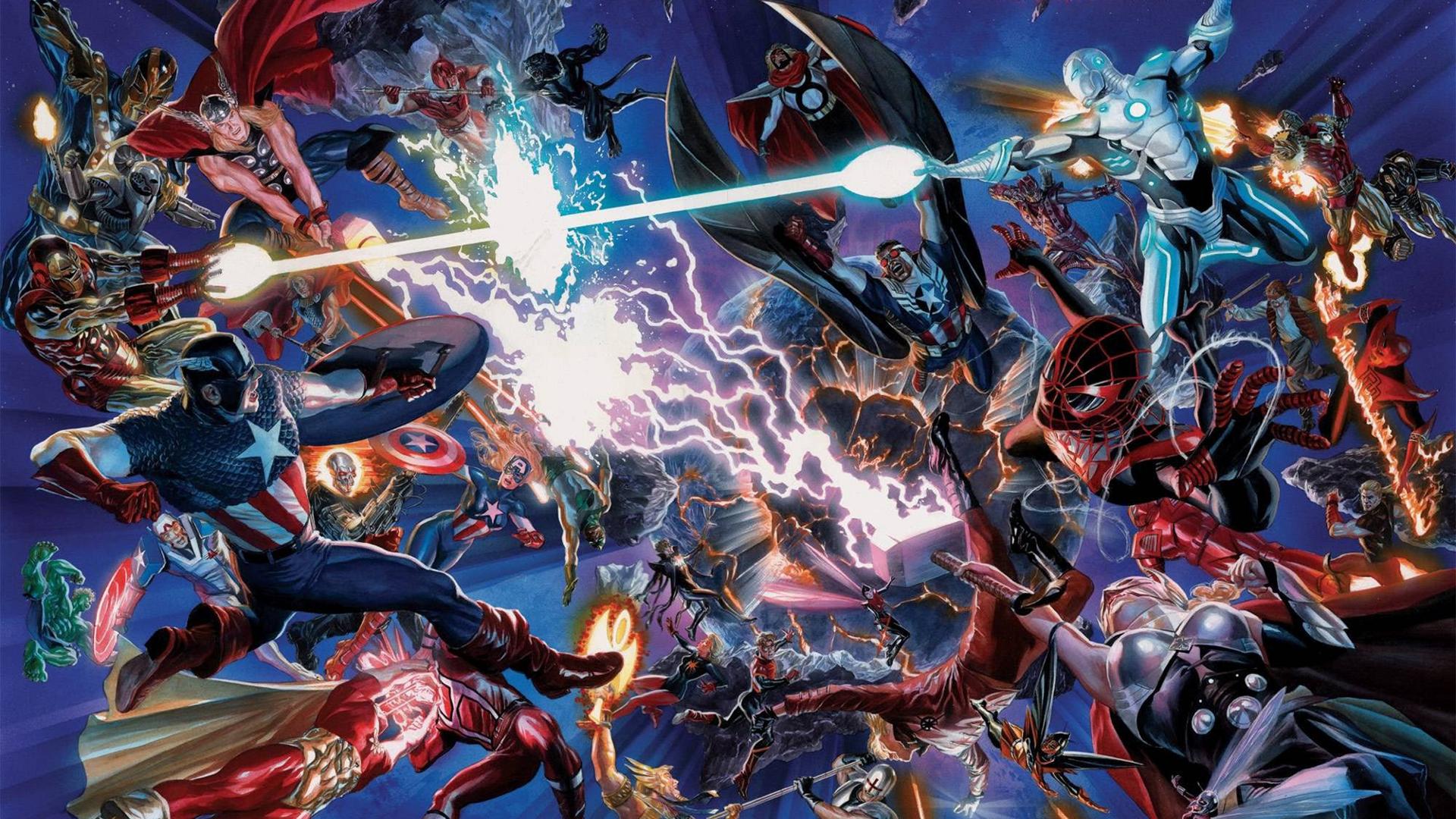 Secret Wars - Battleworld cropped Marvel Comics