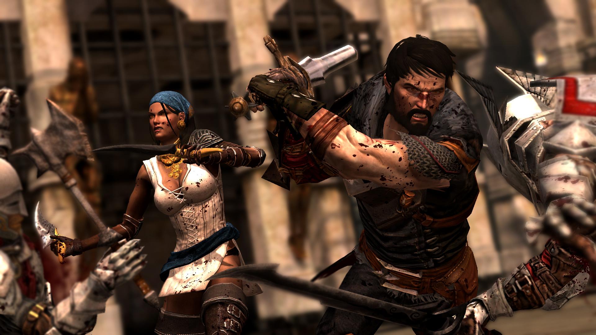 Dragon Age II Isabella & Hawke