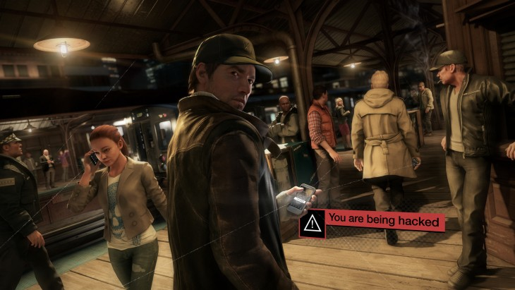 watch dogs - being hacked