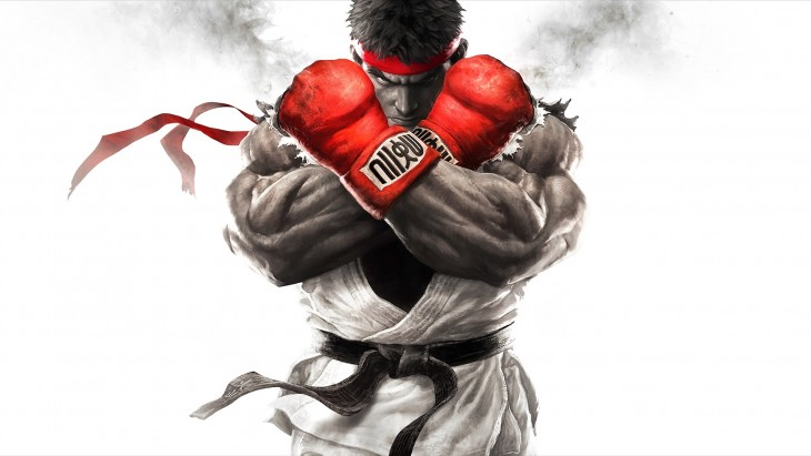 Street Fighter V Ryu box art