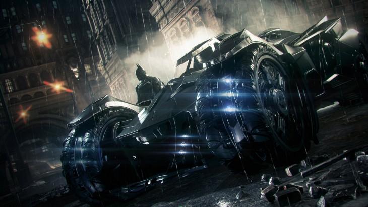 Batman - Arkham Knight Batmobile