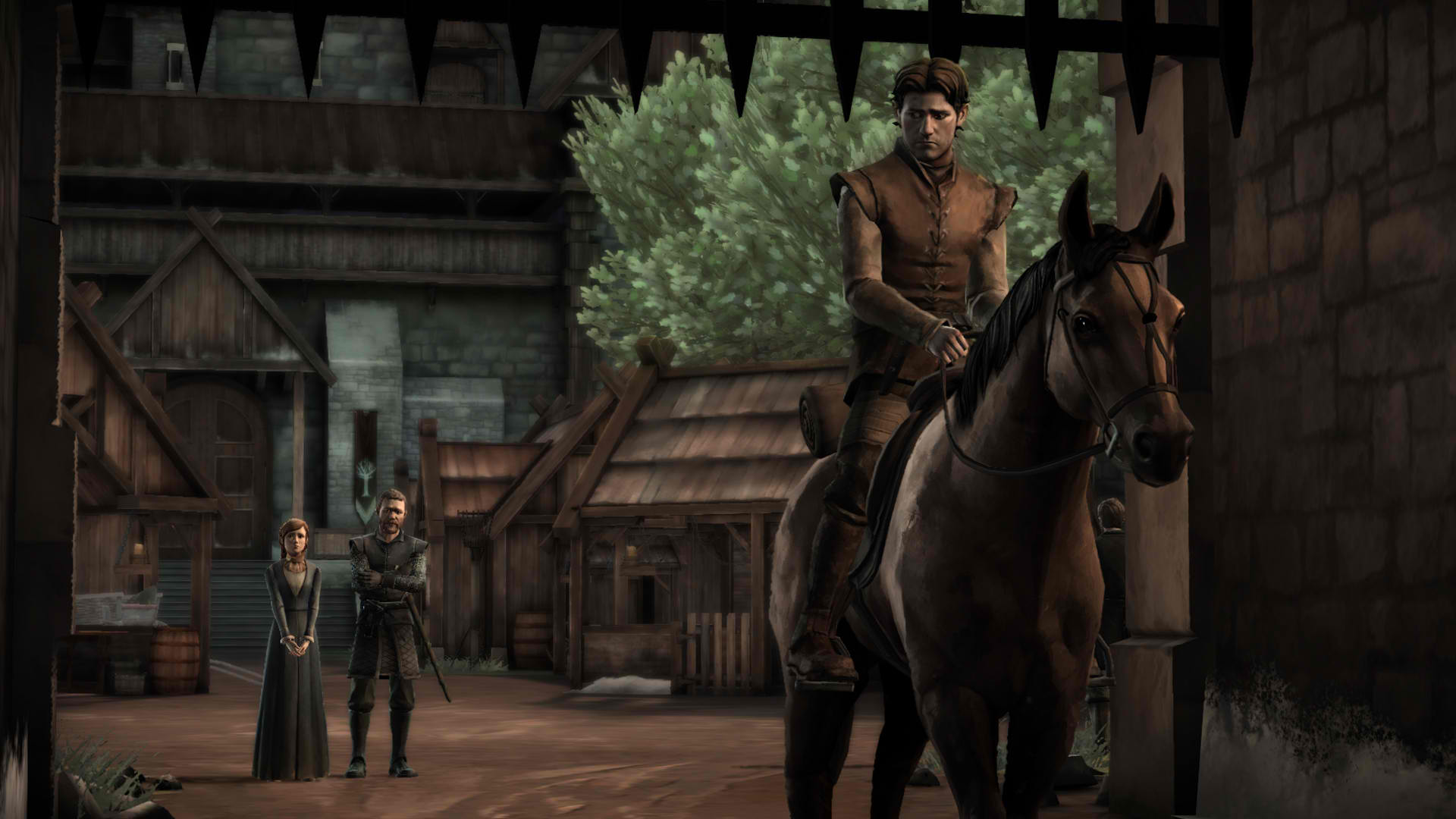 Game of Thrones - Gared on a Horse