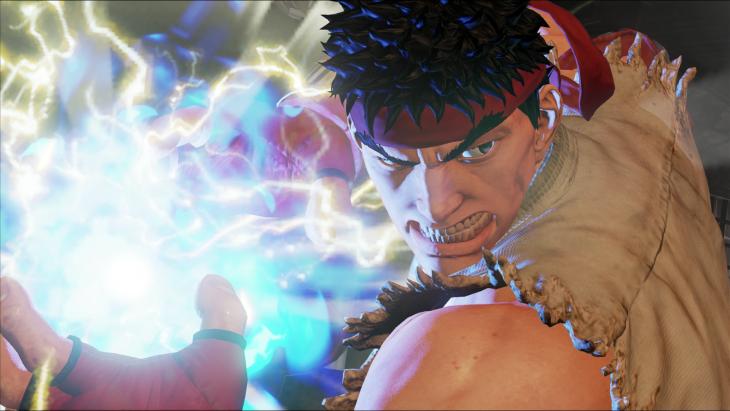 Street Fighter V - Ryu Hadoken