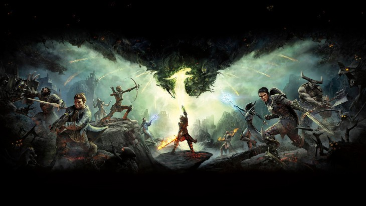 dragon age - inquisition cover art wide