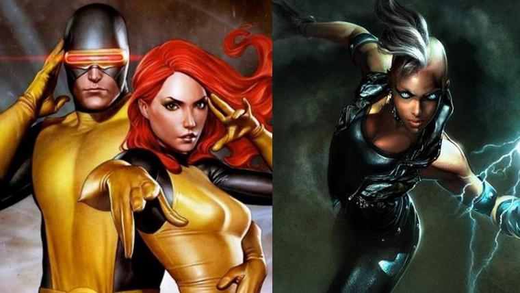 Cyclops, Jean Grey, Storm