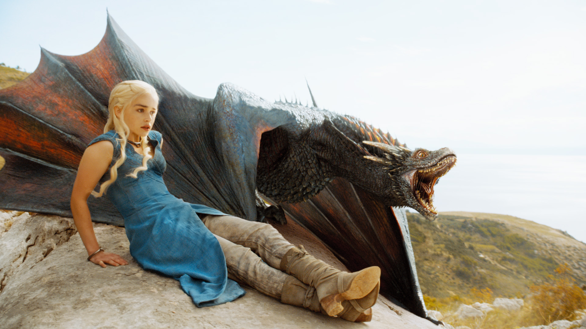Game of Thrones - Drogon_Season_4