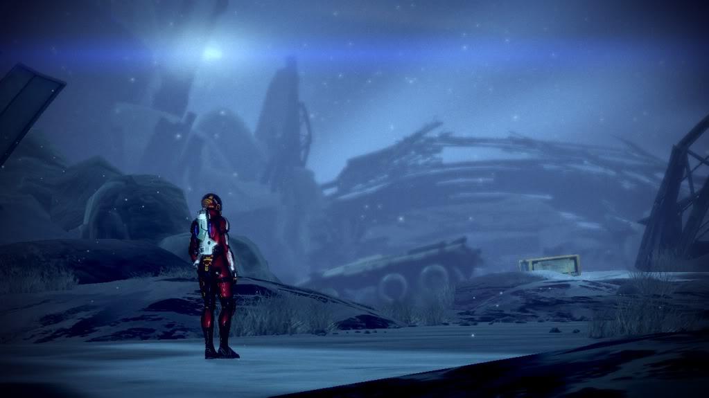 Mass Effect 2 - Normandy Crash Site