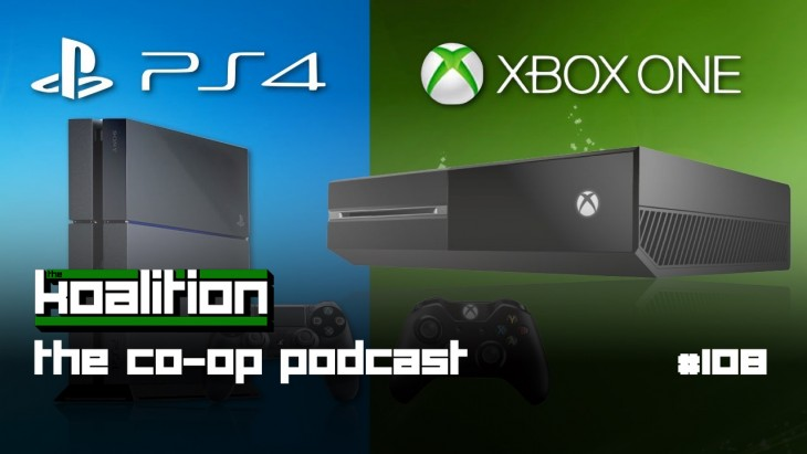 The co op podcast 108 will the ps4 outsell the xbox one for Couch coop ps4